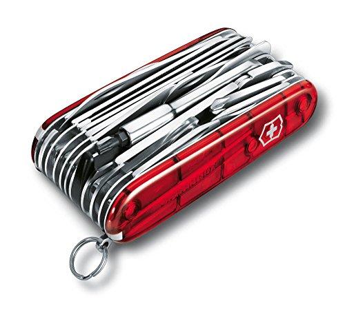 Victorinox-Taschenwerkzeug-OffiziermSwiss-Champ-XLT-Rot-Transparent-16795XLT-0
