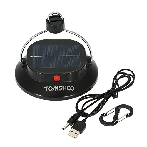 tomshoo solarlampe mit akku usb handy laden. Black Bedroom Furniture Sets. Home Design Ideas